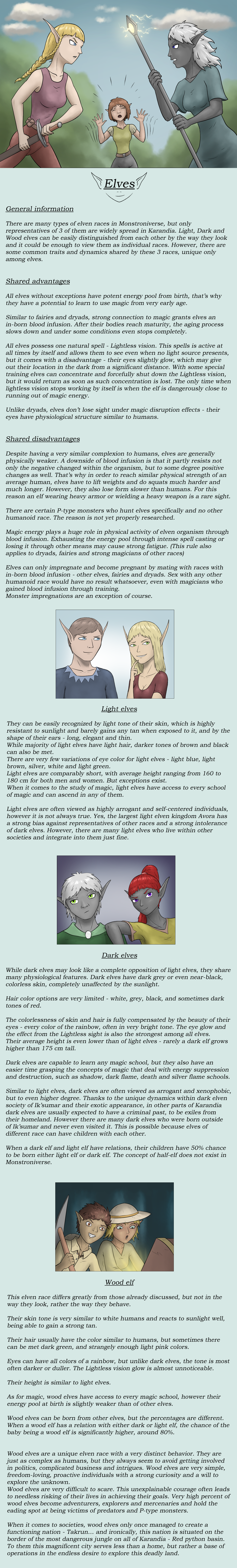Lore - Elves