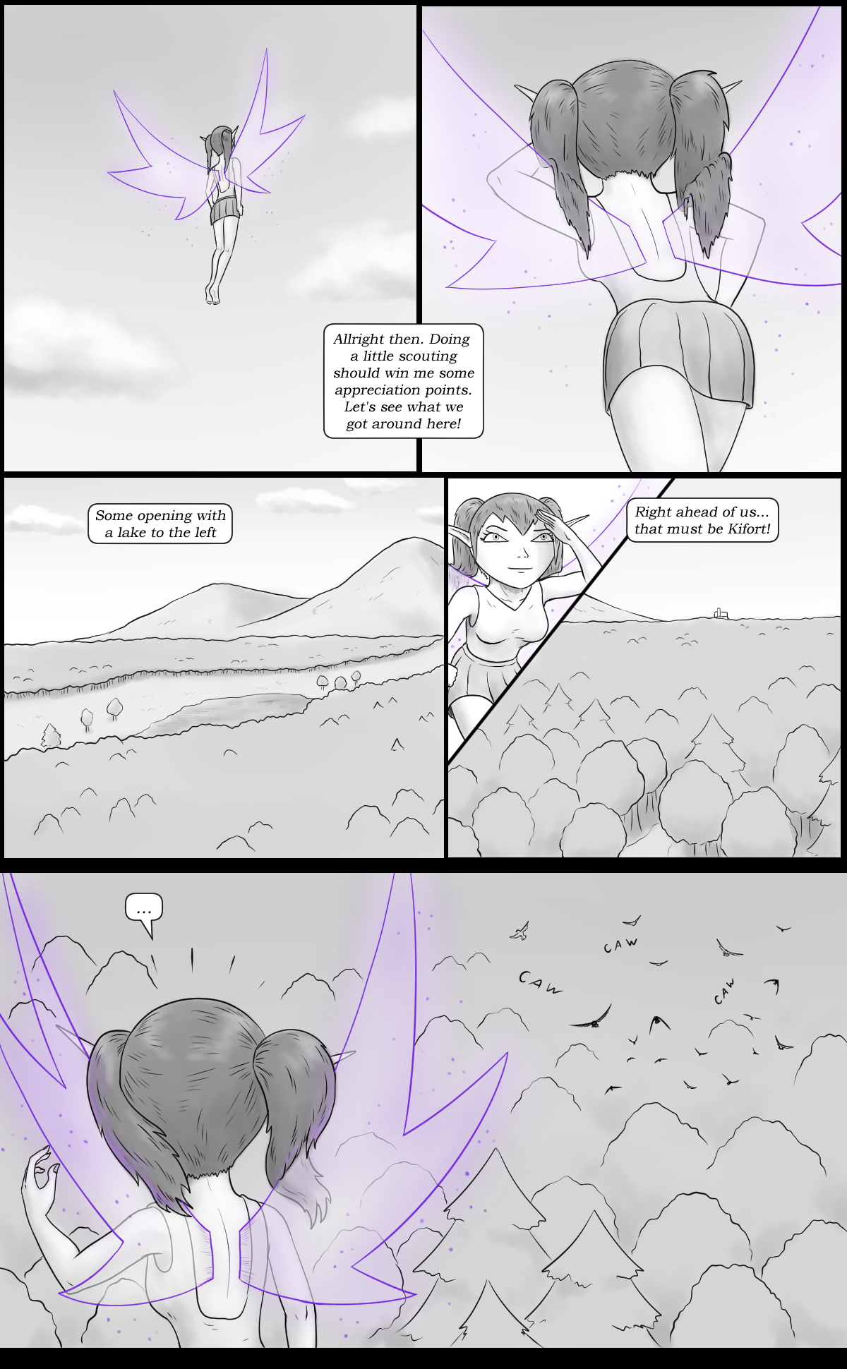 Page 13 - The flock of trouble