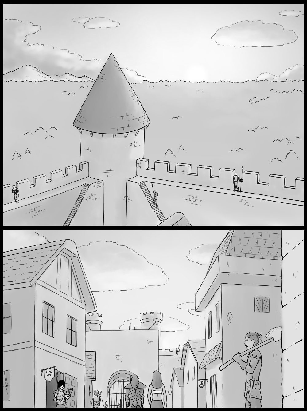 Page 2 - Life comes to the streets of Kifort