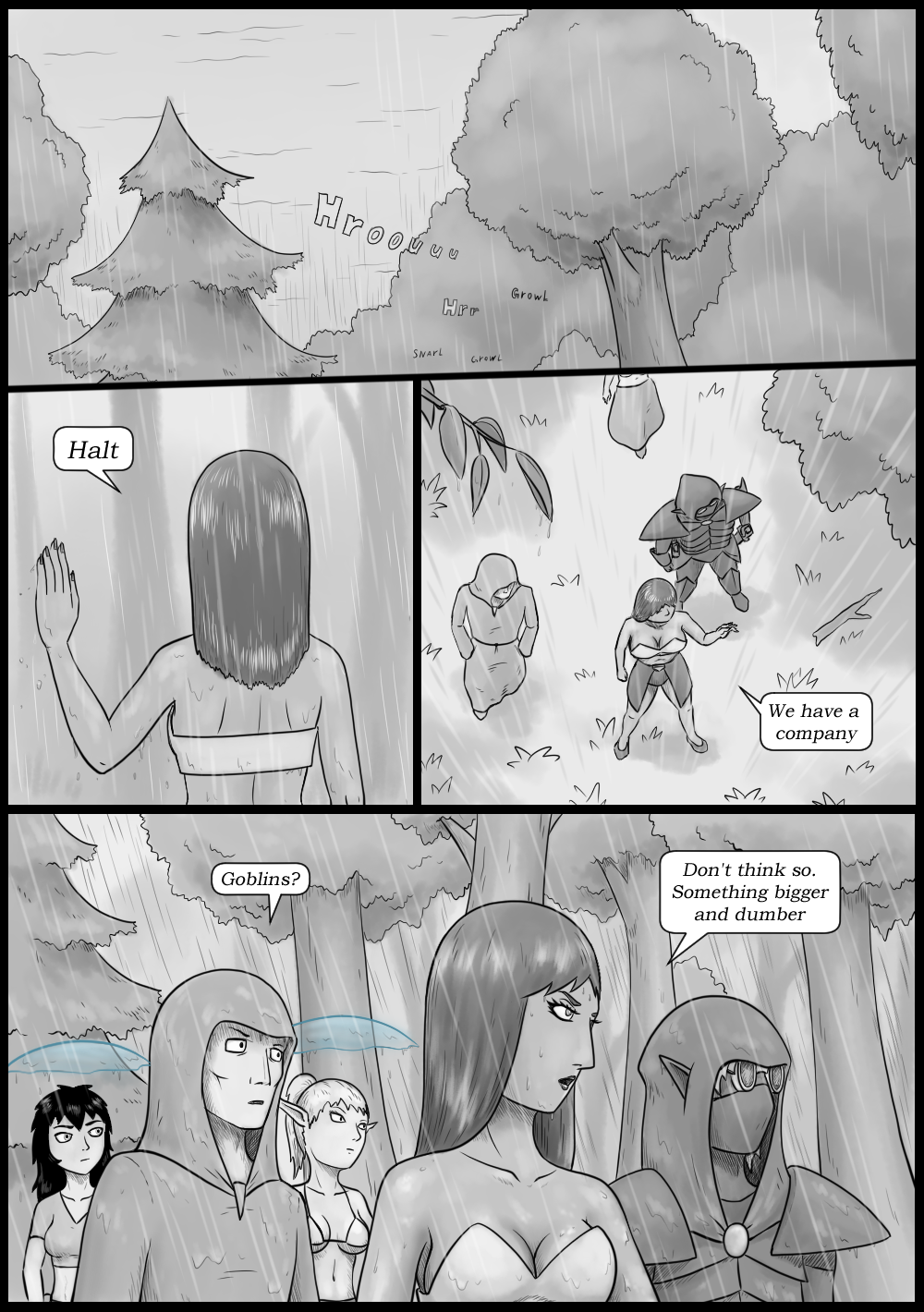 Page 23 - Never a peaceful moment