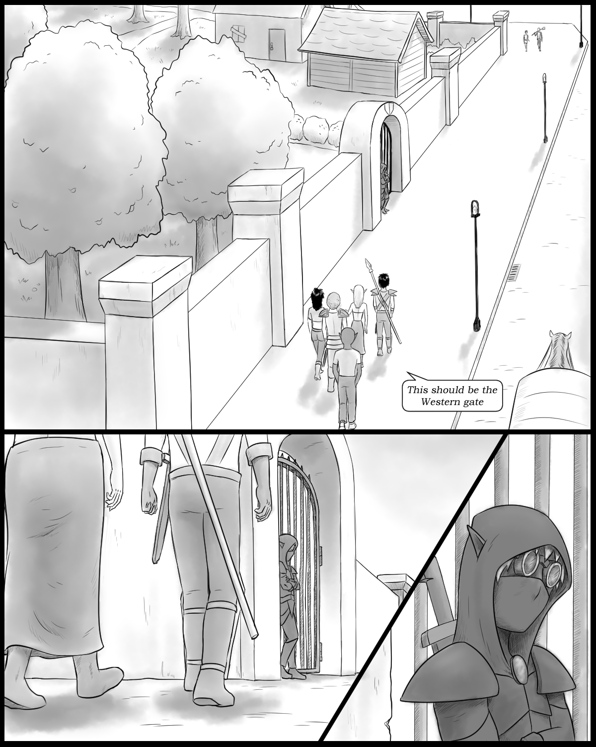 Page 72 - The Western gate