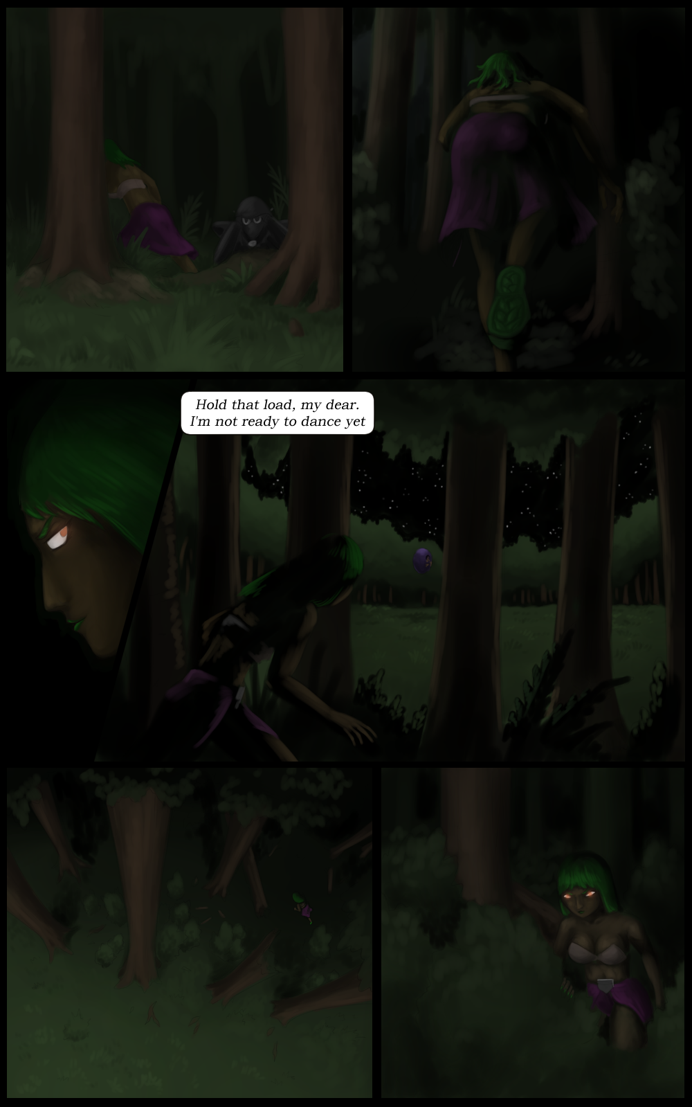 Page 48 - Preparing for the dance (Part 1)