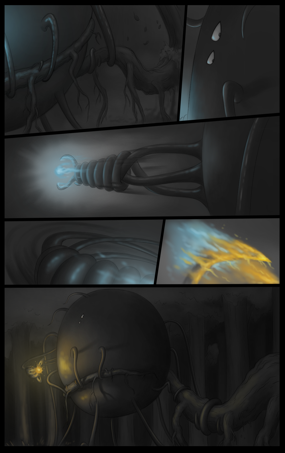 Page 92 - Battle against Glowslimer (Part 39)
